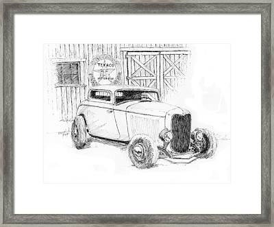 Three Window Coupe Framed Print