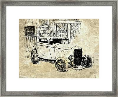 Three Window Coupe Mixed Framed Print