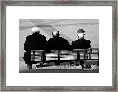 Three Wise Men Framed Print by John Rizzuto