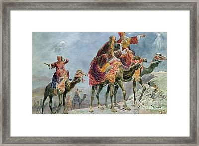 Three Wise Men Framed Print by Sydney Goodwin