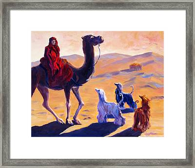 Three Wise Men Framed Print by Terry  Chacon