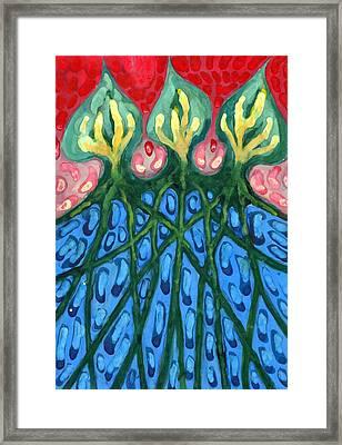 Three Framed Print by Wojtek Kowalski