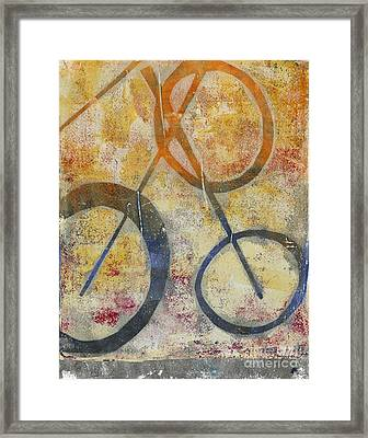 Three Worlds I Framed Print