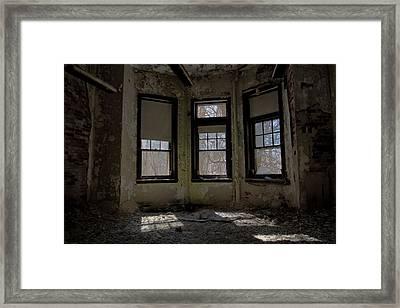 Threefold Framed Print by Kevin Brett
