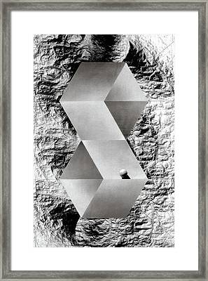 Threshold Framed Print by David Kleinsasser