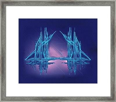 Threshold Framed Print by Don Quackenbush