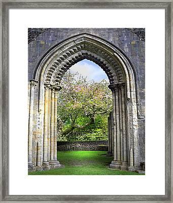 Threshold Of Avalon Framed Print
