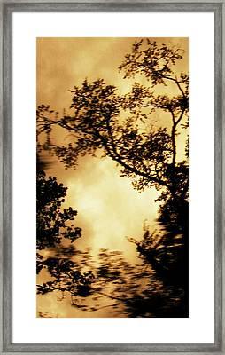 Threshold Framed Print by Kristin Sharpe