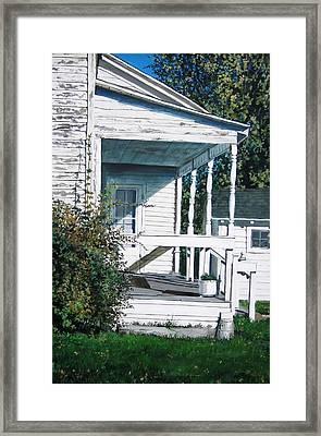 Threshold Framed Print