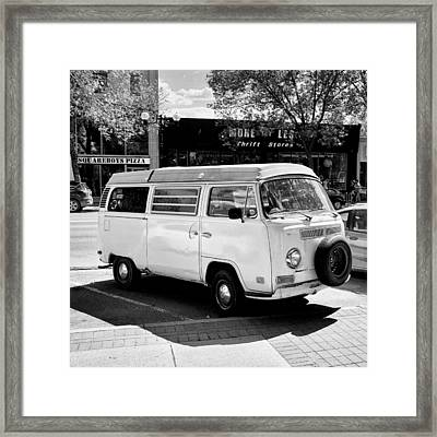 Thrifty Or Just A Hipster? Framed Print