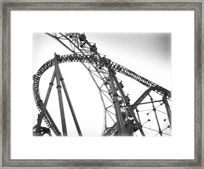 Thrill Framed Print