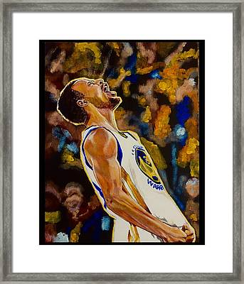 Thrill Of Victory Framed Print by Joel Tesch