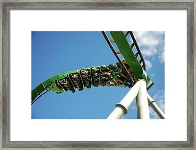 Thrill Ride Framed Print
