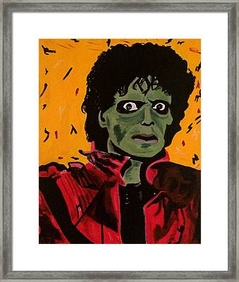 Thriller Framed Print by Austin James