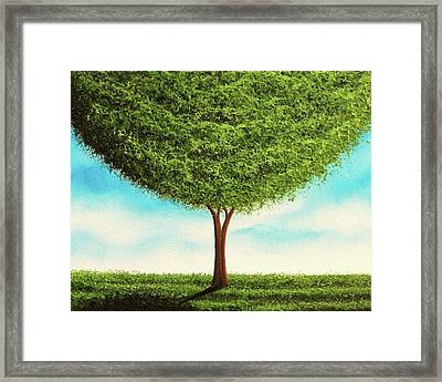 Thriving Framed Print by Rachel Bingaman
