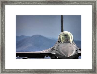 Throttle Up Framed Print