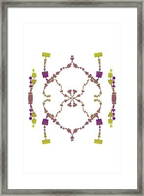 Through A Connection Framed Print by Britten Adams