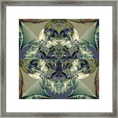 Through A Glass Darkly Framed Print by Jim Pavelle