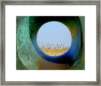 Through And Beyond Framed Print