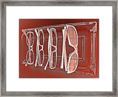 Through Becky's Eyes II Framed Print by Tony Grider