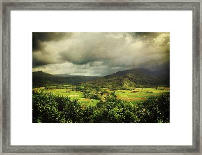 Through It All Framed Print by Laurie Search