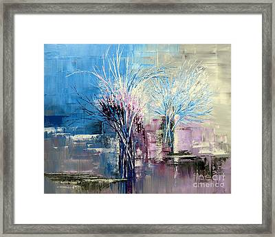 Through Morning's Light Framed Print by Tatiana Iliina