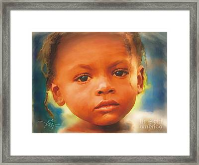 Through My Eyes Framed Print by Bob Salo