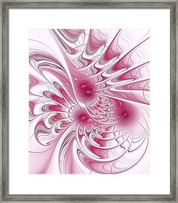 Through Rose-colored Glasses Framed Print