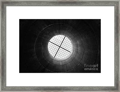 Through Framed Print by Tapio Koivula