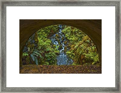 Through The Arch Signed Framed Print