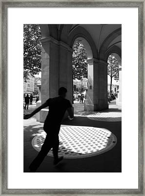 Through The Arches Framed Print