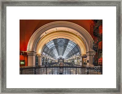 Through The Archway Framed Print by Evelina Kremsdorf