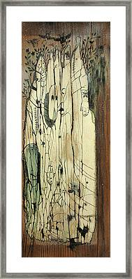 Through The Cracks Framed Print by Konrad Geel