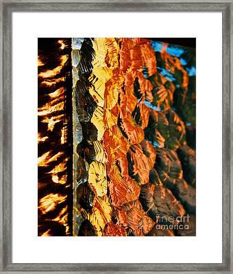 Through The Glass Framed Print by Hideaki Sakurai