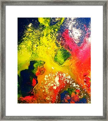 Through The Haze Of Time Two Framed Print by Louise Adams