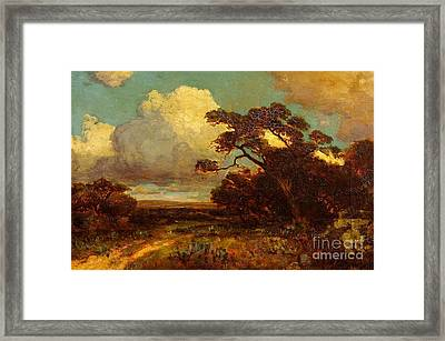 Through The Hills In Southwest Texas 1911 Without Border Framed Print