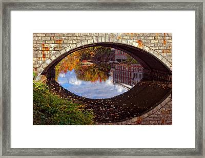 Through The Looking Glass Framed Print by Joann Vitali