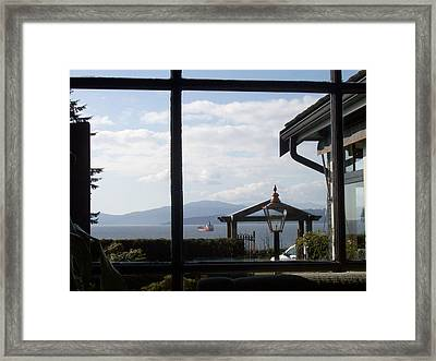 Framed Print featuring the photograph Through The Looking Glass by Mary Mikawoz