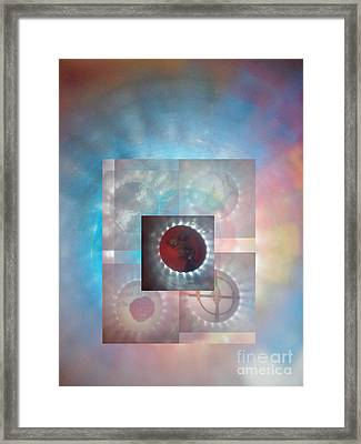 Through The Looking Glass Framed Print by Sean-Michael Gettys