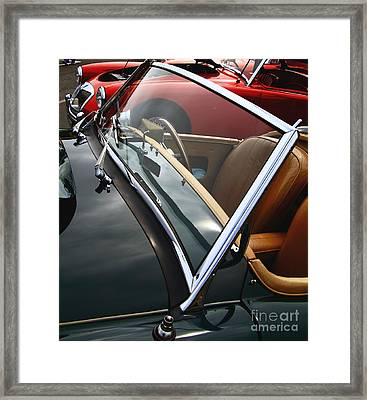 Framed Print featuring the photograph Through The Looking Glass by Stephen Mitchell
