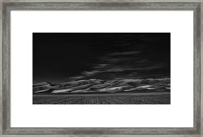 Through The Silence Something Throbs ... Framed Print