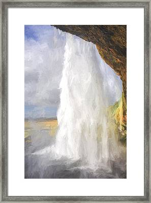 Through The Waters  IIi Framed Print