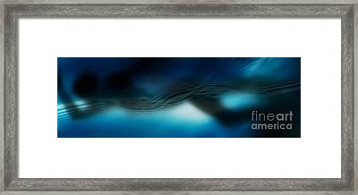 Through The Waves Of Time Framed Print