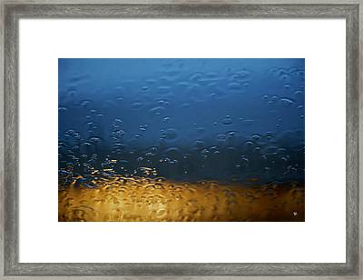 Framed Print featuring the photograph Through The Windshield by Tom Romeo