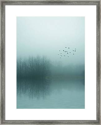 Through The Zero Hour Framed Print