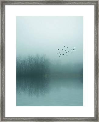 Through The Zero Hour Framed Print