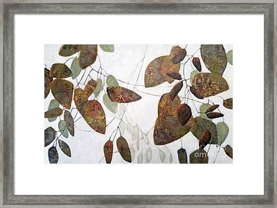 Through Framed Print
