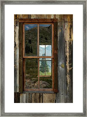 Through Yonder Window Framed Print