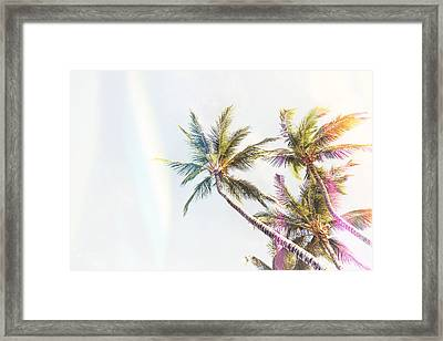 Throwback Thursday Summer Framed Print