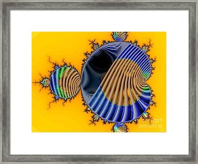 Thru A Julia Lens Framed Print